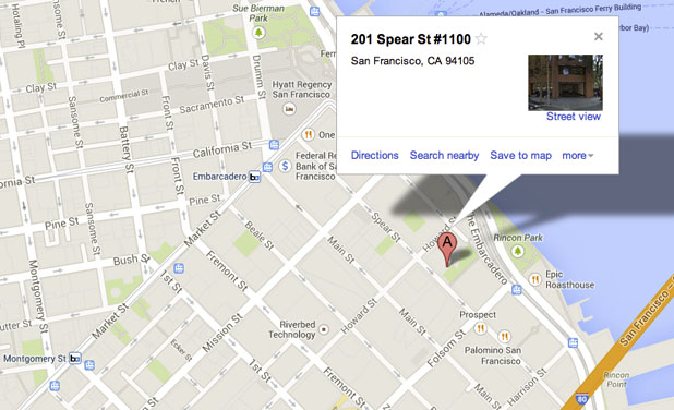 San Francisco Office Location